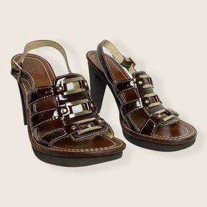 Michael Kors Patent Leather Sandals